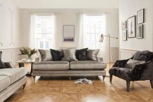 Belvedere 4 Seater Pewter