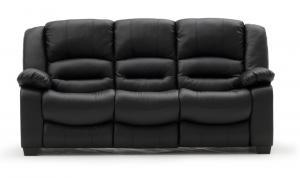 Barletto 3 Seater Black