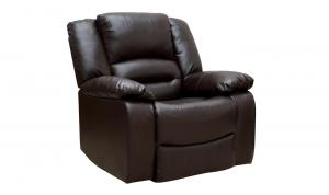 Barletto 1 Seater Recliner Brown