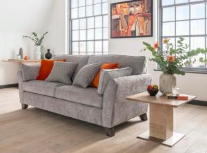 Cantrell 3 Seater Silver