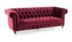 Darby 3 Seater Berry