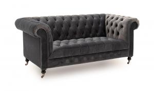 Darby 2 Seater Grey