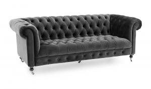 Darby 3 Seater Grey