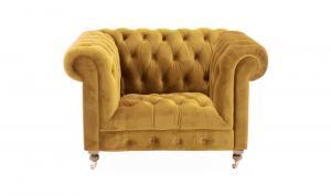Darby 1 Seater Mustard
