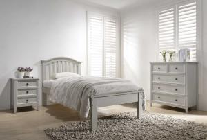 Mila 3' Curved Bed