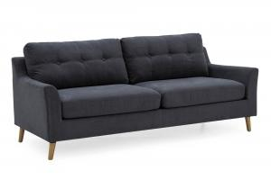Olten 3 Seater Charcoal