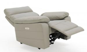Positano-1-Seater-Electric-Recliner-Light-Grey-Angle-Open