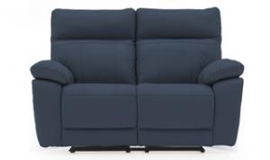 Positano-2-Seater-Indigo-Blue-Recliner-Front