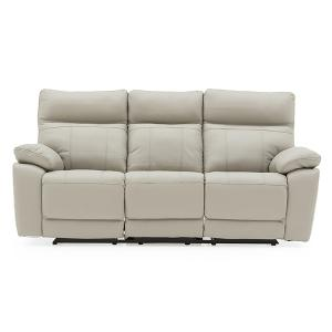 Positano-3-Seater-Electric-Recliner-Light-Grey-Staight-square