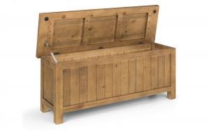 Aspen Pine Storage Bench