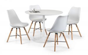 Blanco Round Dining Table