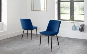 Delauney Blue Dining Chair