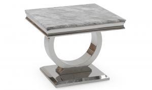 Arianna Grey Lamp Table