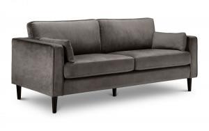 Hayward Velvet 3 Seater