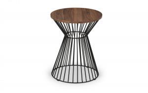 Jersey Walnut Lamp Table