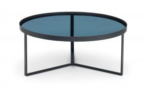 Loft Smoked Glass Coffee Table