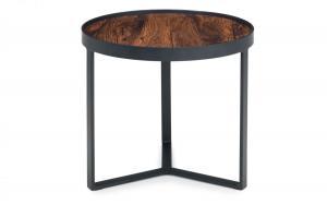 Loft Walnut Lamp Table