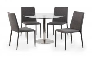 Milan Glass Dining Table