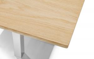 Pisa Oak Dining Table