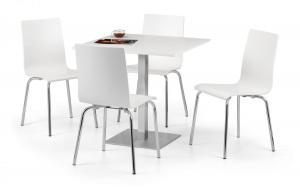 Pisa White Dining Table