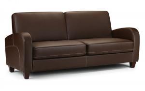 Vivo Brown 3 Seater