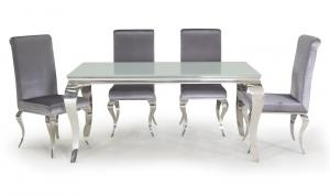Louis White Dining Table 200cm