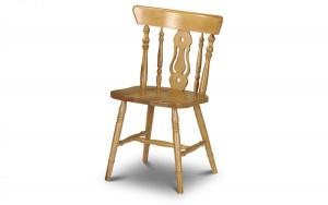 Yorkshire Fiddleback Dining Chair