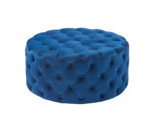 Castello Footstool Blue