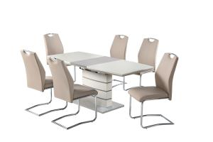 Elena Champagne Extending Dining Table