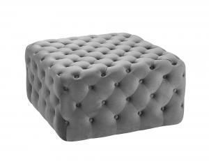 Franco Footstool Grey