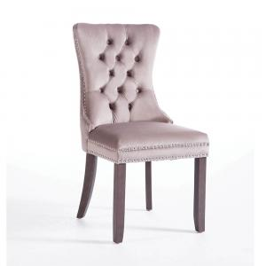 Kacey Mink Chair Antique Leg