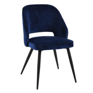 Sutton Navy Dining Chair