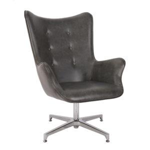 Otis Charcoal Chair